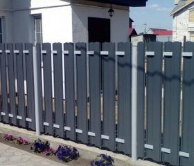 Забор из металлоштакетника Стандарт